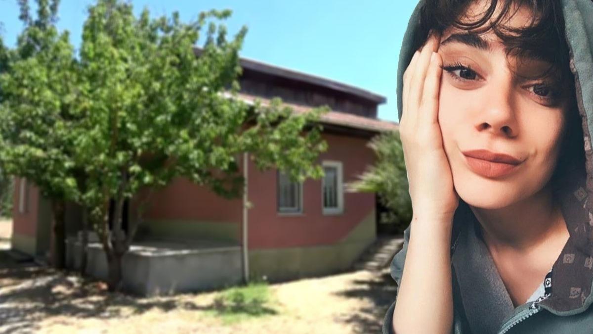 Pınar Gültekin'in katledildiği bağ evinden görüntüler!