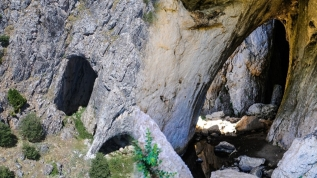 Bu mağaranın girişi Eskişehir, çıkışı Bolu!