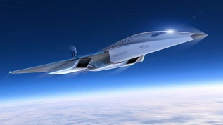 Uzay şirketi tasarımını paylaştı! Sesten 3 kat hızlı