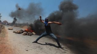 Batı Şeria'da direniş sürüyor! Yahudi yerleşim inşasına karşı gösteri