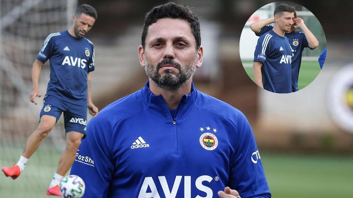 Fenerbahçe'de yeni transferler sahaya çıktı! Erol Bulut'tan dikkat çeken mesaj
