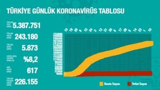 Türkiye günlük koronavirüs tablosu! İşte en çok vaka olan 5 il!