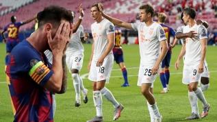Barcelona şokta! 10 gollü maçta Bayern Münih tarihe damgasını vurdu
