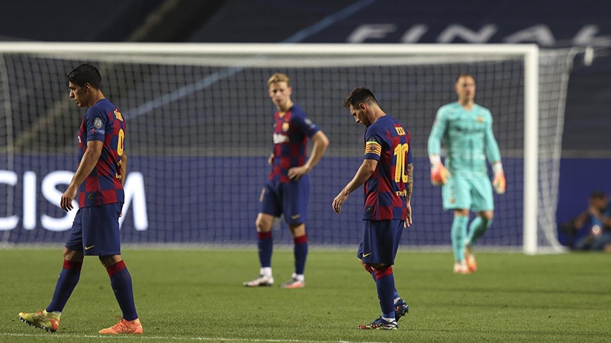 Barcelona'nın Bayern Münih'e 8-2 yenilmesi İspanya'yı salladı!