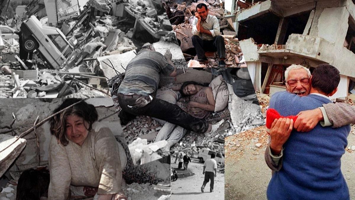 17 Ağustos 1999 depreminden unutulmayan fotoğraflar