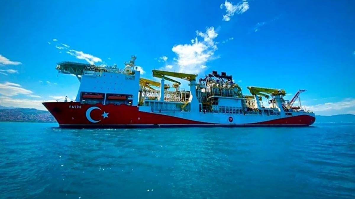 İşte Fatih sondaj gemisinin fotoğrafları ve özellikleri