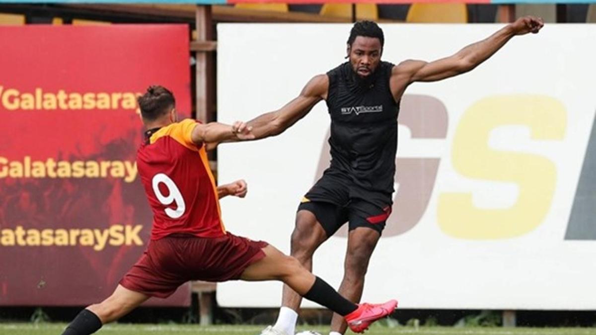 Galatasaray'dan 6 gollü prova
