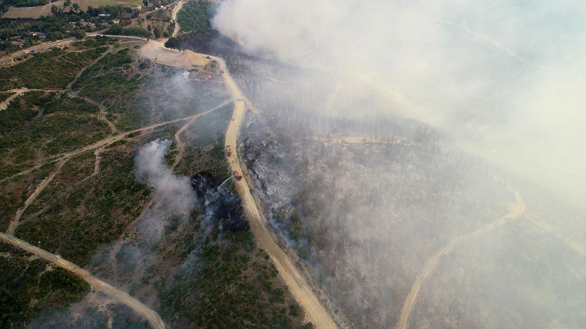 Adana orman yangını söndürüldü mü? İşte Adana'daki orman yangınından fotoğraflar