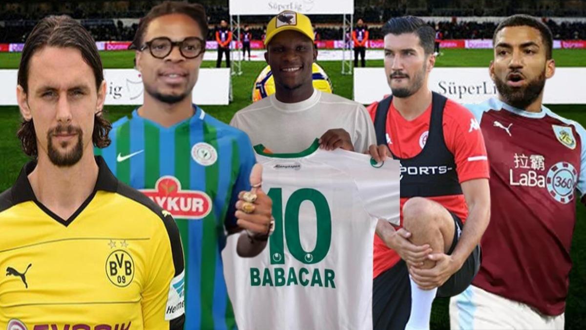 Süper Lig'e yıldız yağdı! Transfer dönemine Anadolu kulüpleri damga vurdu