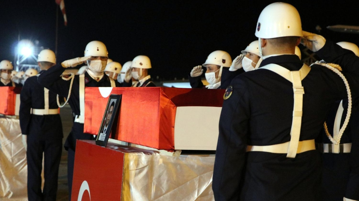 'Yıldırım 10-Norduz' operasyonu şehitleri törenle memleketlerine uğurlandı