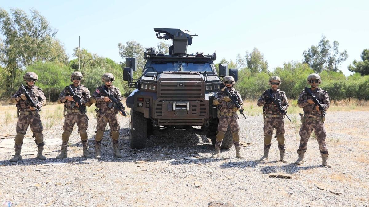 16 tonluk 'Ejder' Polis Özel Harekat'ın hızına hız katıyor