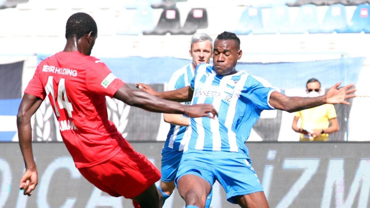 Erzurumspor - Sivasspor maçından kareler