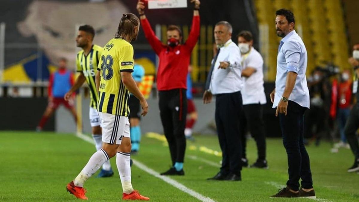 Fenerbahçe - Hatayspor maçında Caner Erkin'den Erol Bulut'a tepki!