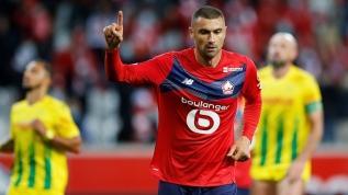 Fransa'da geceye Burak Yılmaz damga vurdu! Lille formasıyla ilk golünü böyle attı