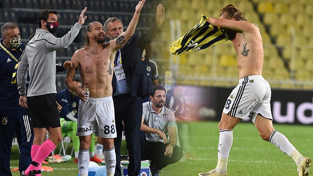 Hakeme kızdı formayı attı! Fenerbahçe'de Caner Erkin çıldırdı