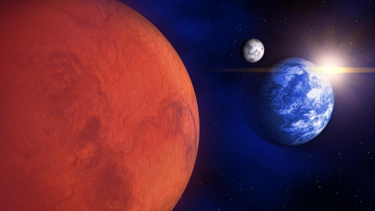 NASA açıkladı: Mars dünyadan görülecek
