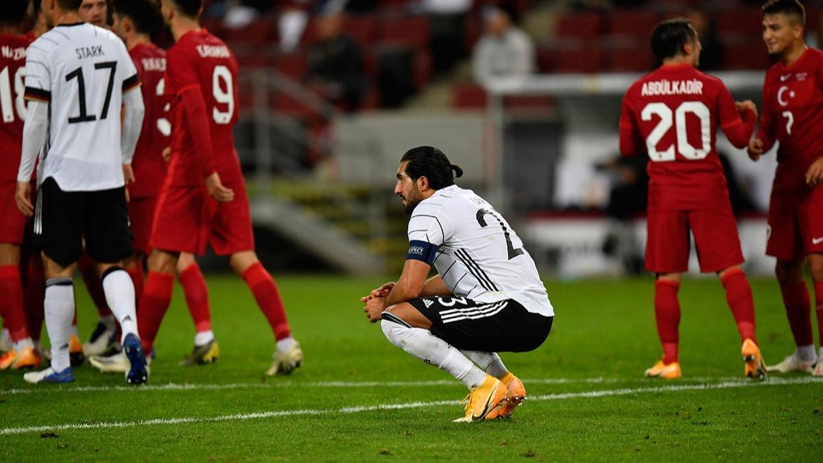 Almanya - Türkiye maçından sonra Emre Can'dan tepki çeken hareket
