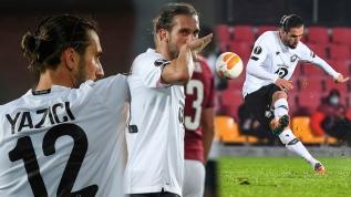 Yusuf Yazıcı Avrupa Ligi'ni yıktı geçti! Lille'i Türkler uçuruyor