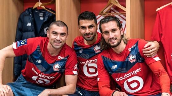 Lille'e iki Türk yıldız daha