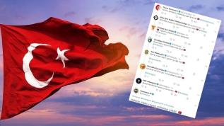 Kulüplerden sosyal medyada İstiklal Marşı zinciri