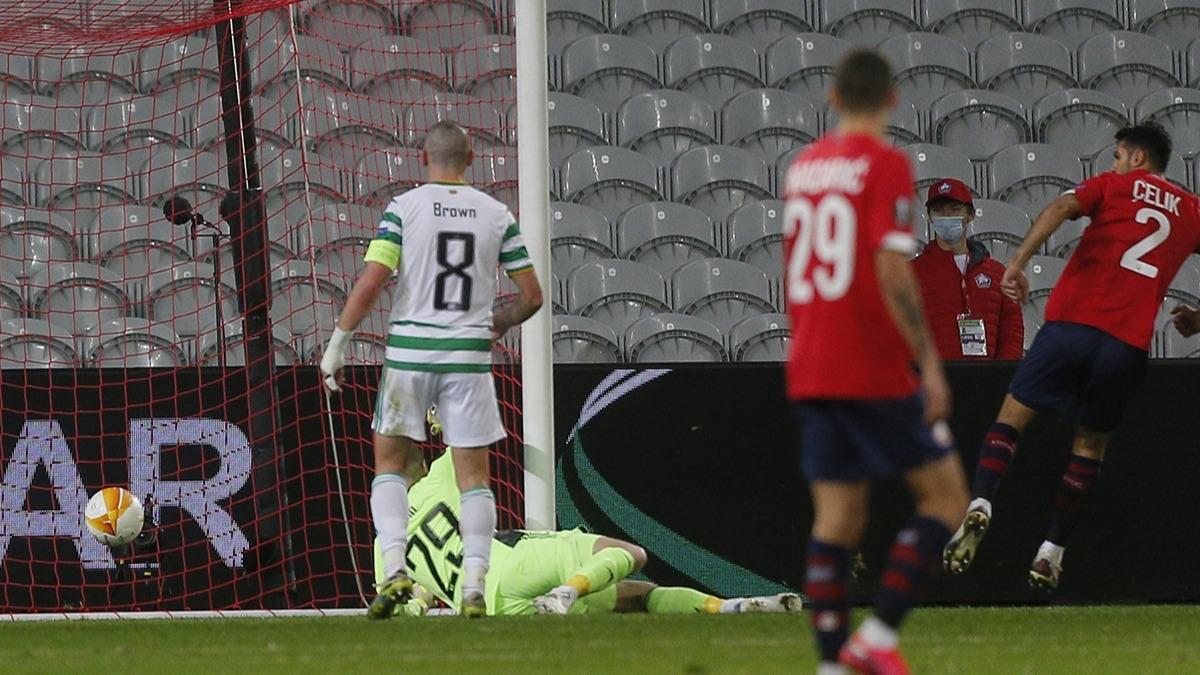 Lille-Celtic maçına Zeki Çelik damgası
