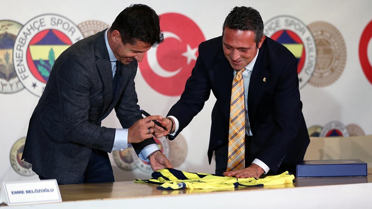 Fenerbahçe'de Emre Belözoğlu'ndan 19. transfer