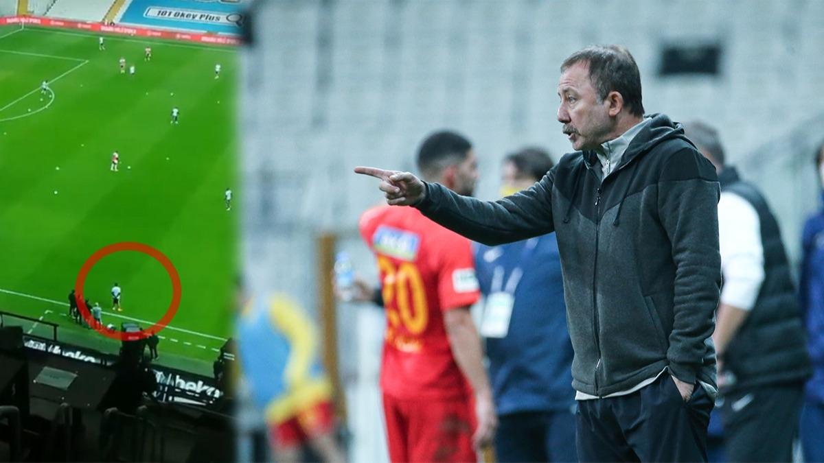 Dolmabahçe'de maça damga vuran anlar! Taraftarı çıldırtan görüntü