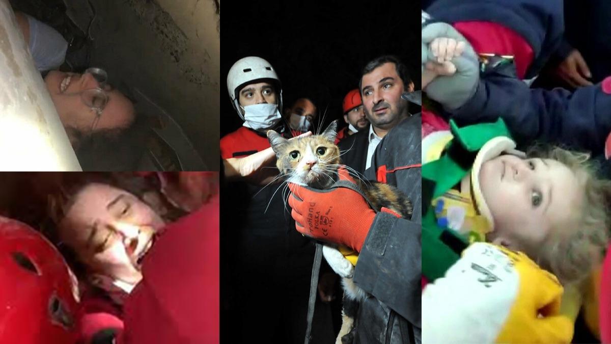 İzmir'de kurtarma çalışmaları devam ediyor! İşte enkazdan kurtarılanlar