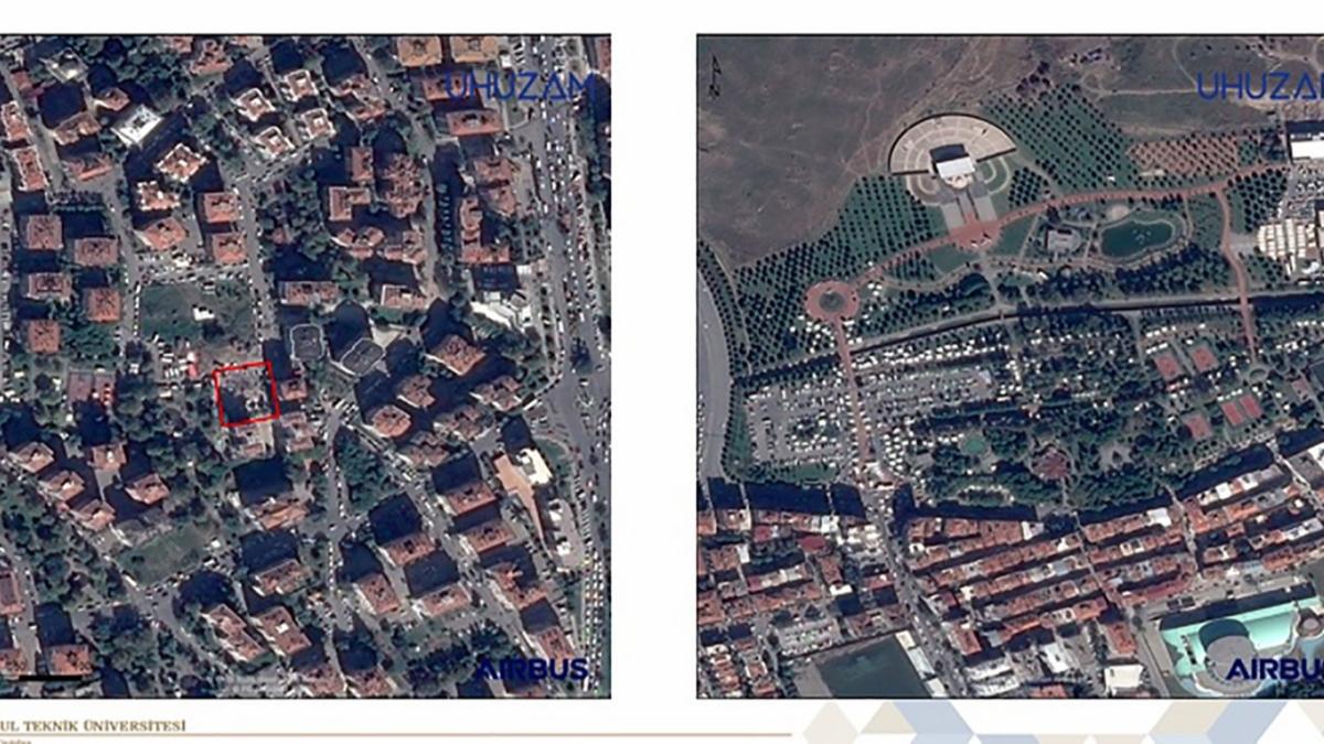 İşte İzmir depreminin uzaydan çekilen fotoğrafları: Dehşet gözler önüne serildi