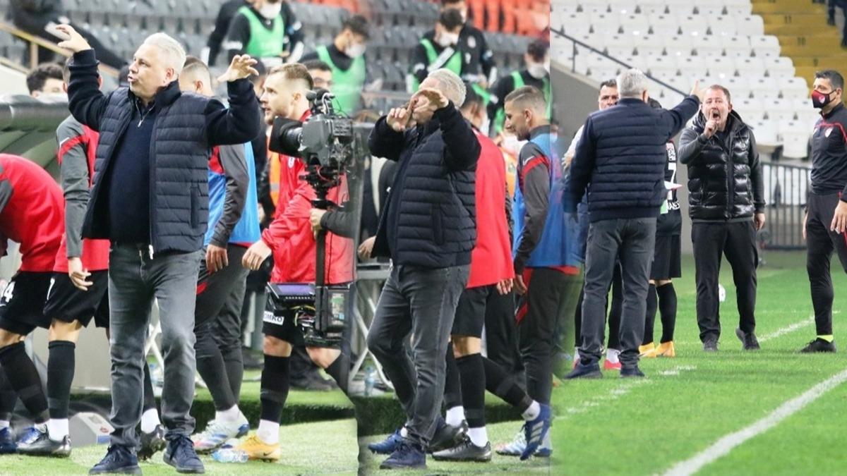 Yine Sumudica yine olay! Sergen Yalçın'ı çıldırttı, 90+8'de Beşiktaş yönetimine 'sus' işareti...