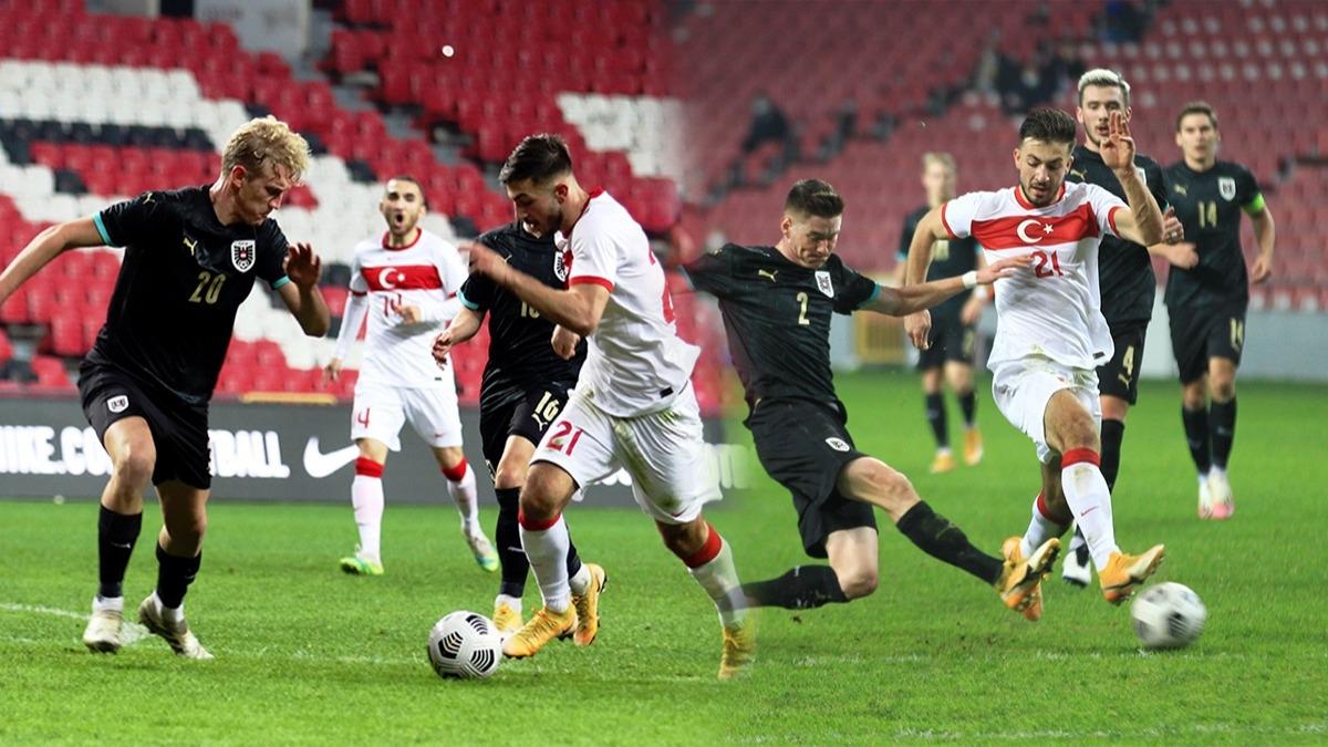 Hattrick yaptı Milli Takım'ı 90+3'te ipten aldı! Halil Dervişoğlu Avusturya'yı tek başına yıktı