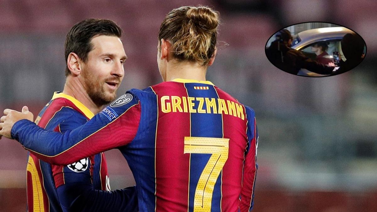 Tesis çıkışında olay, taraftar arabanın önünü kesti! Barcelona'da olaylar durulmuyor: Lionel Messi...