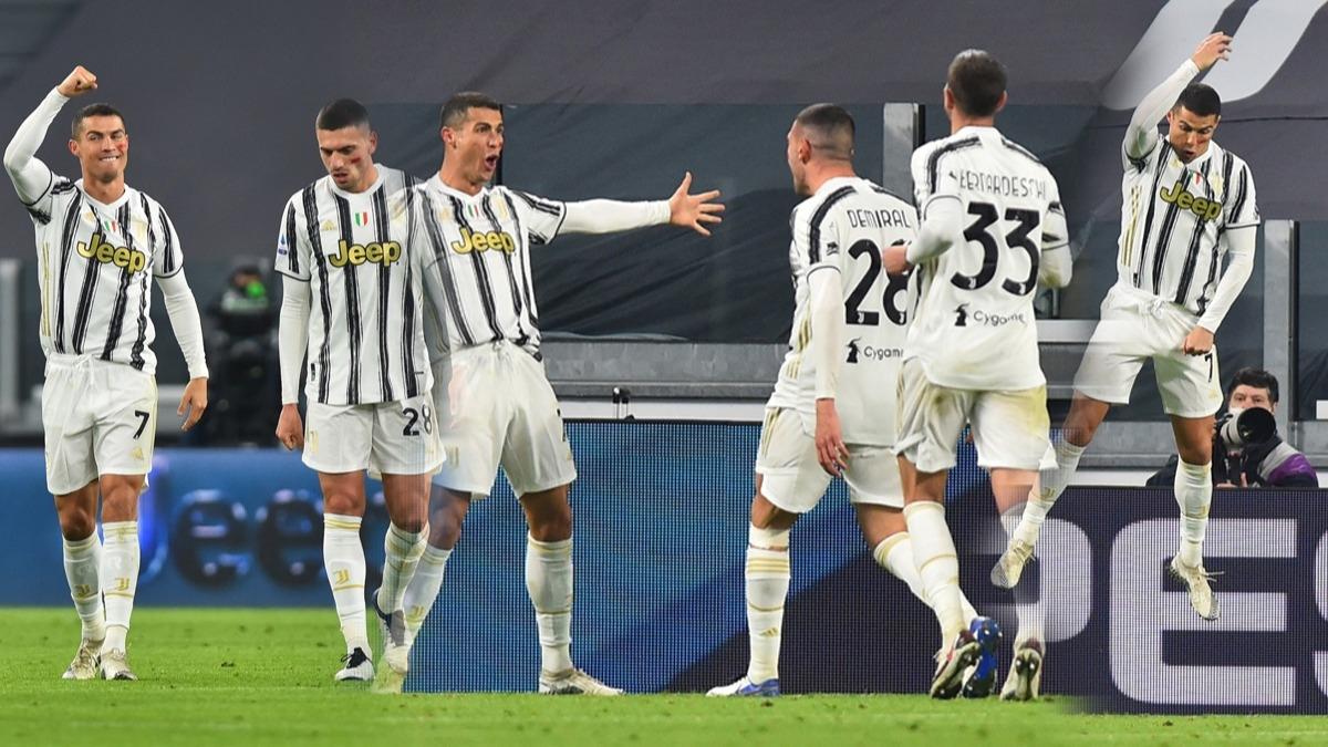 Juventus'ta Merih Demiral Cristiano Ronaldo iş birliği! Milli yıldız İtalya'ya damga vurdu