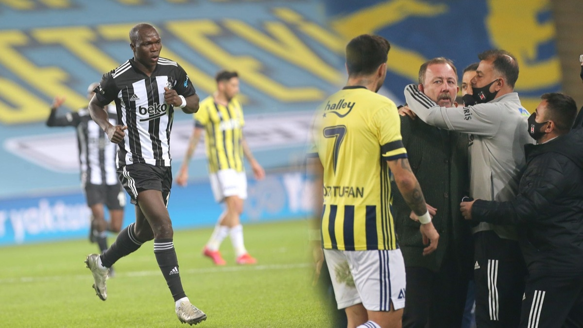 Aboubakar'dan inanılmaz istatistik Beşiktaş'ta bir ilke imza attı! Beşiktaş'tan Fenerbahçe'ye maç sonu flaş gönderme