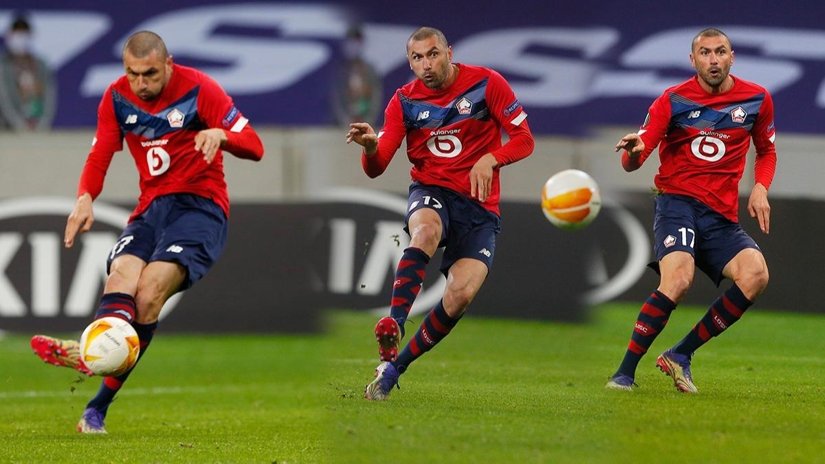 Oyuna girdi maçı çevirdi, Lille formasıyla yine rekor kırdı! Fransa'da 'Kral'ın' gecesi