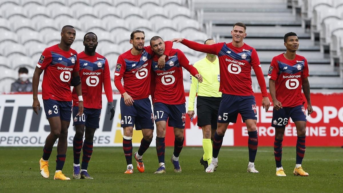 Lille - Monaco maçına Yusuf Yazıcı ve Burak Yılmaz damgası!