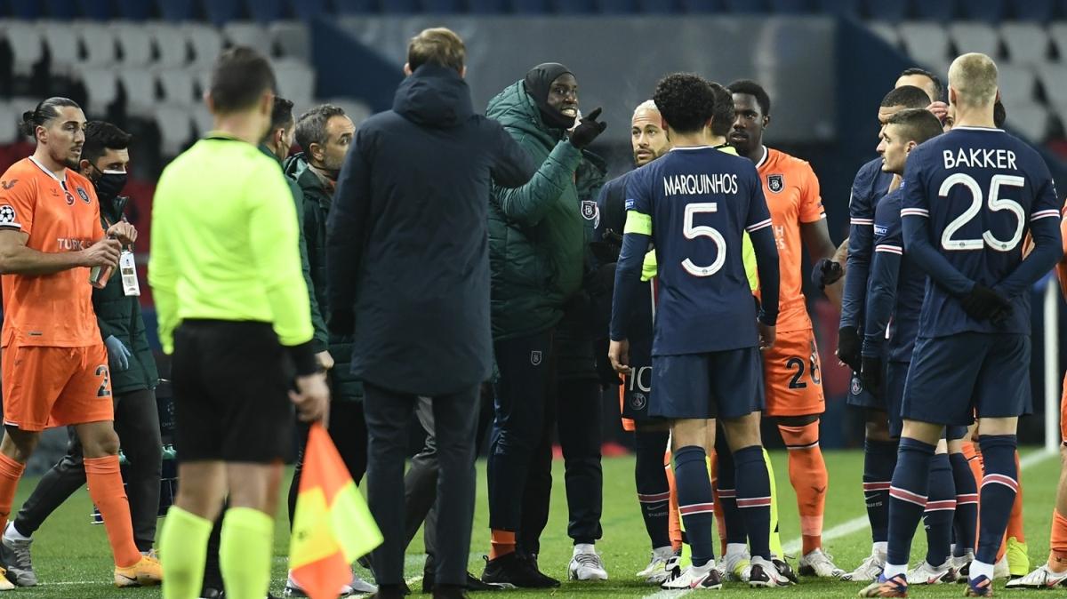 Futbol dünyası PSG - Başakşehir maçındaki ırkçılığa karşı birleşti! 'İğrenç bir kritik eşikteyiz'