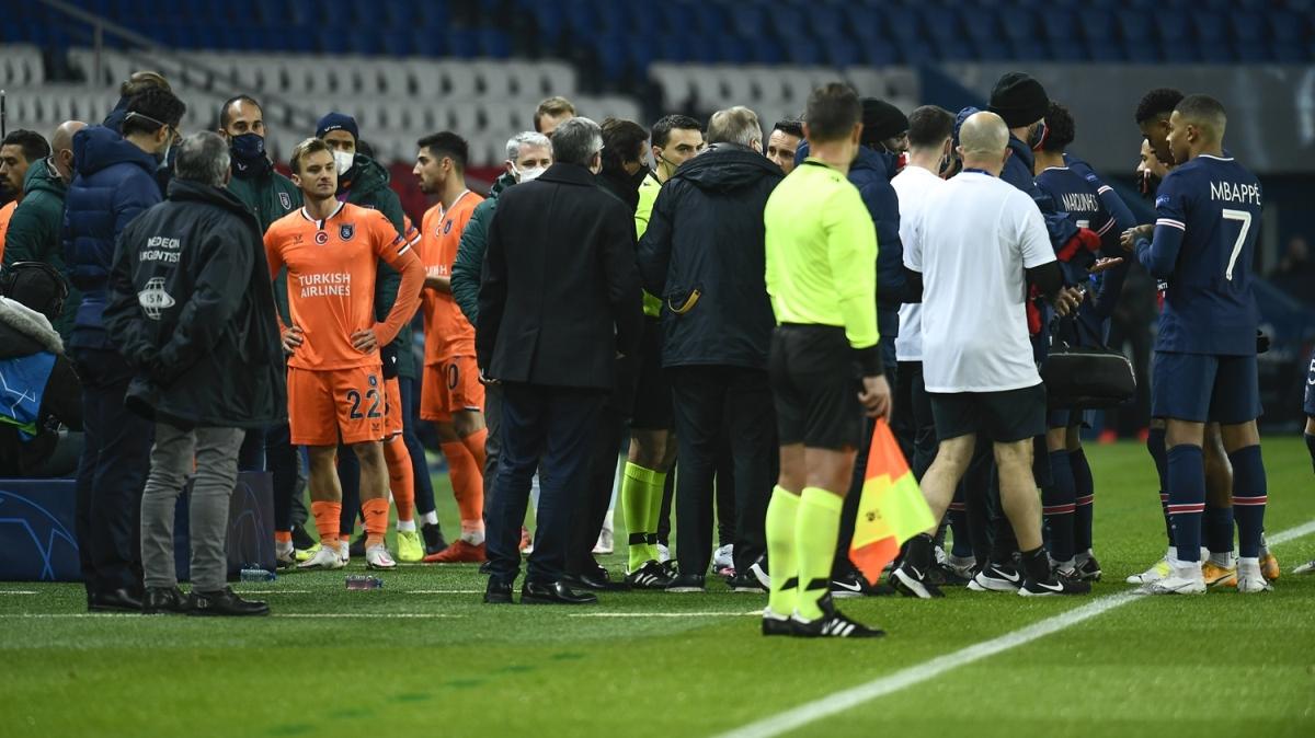 PSG - Başakşehir maçındaki ırkçılık Avrupa basınına böyle yansıdı! 'Paris'te skandal ve devrim!'