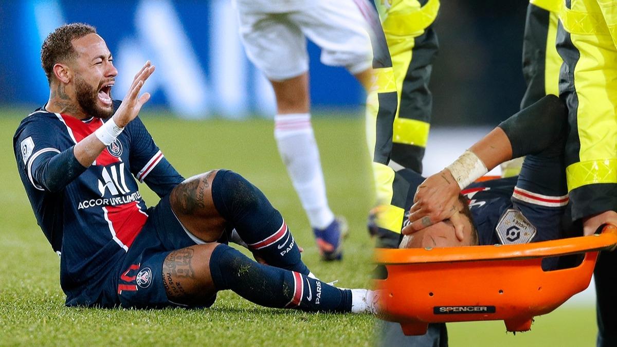 'Endişeliyim, iyi görünmüyor' PSG'de Neymar'dan korkutan sakatlık, sahayı gözyaşlarıyla terk etti