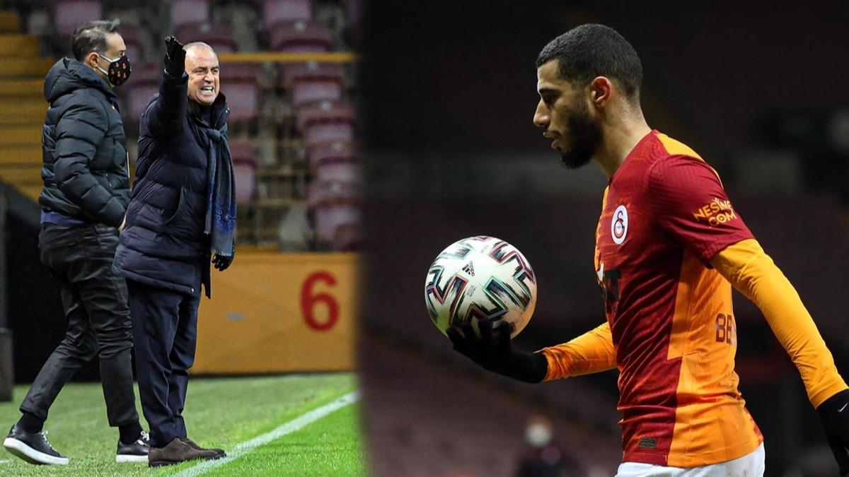 Galatasaray'ın iki yıldızı arasında gerginlik! Topu elinden alınca tepki gösterdi