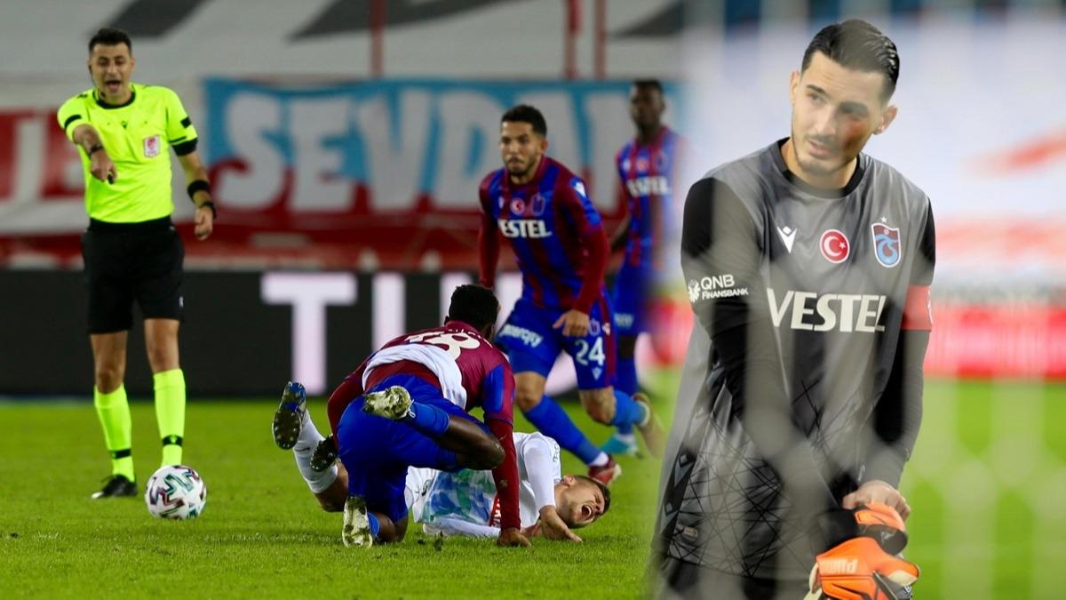 Trabzonspor maçında karar sonrası ortalık yıkıldı! Uğurcan Çakır: Her zaman aynı, bedavadan...