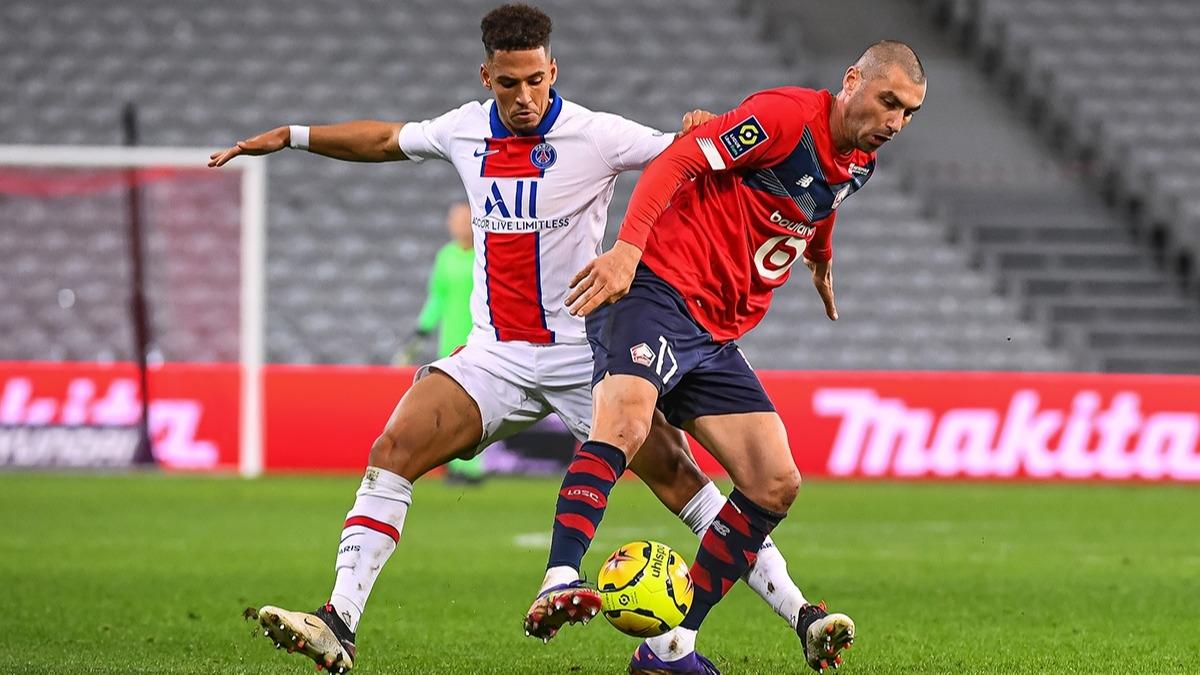 Lille - PSG maçında Burak Yılmaz'dan kral hareket!