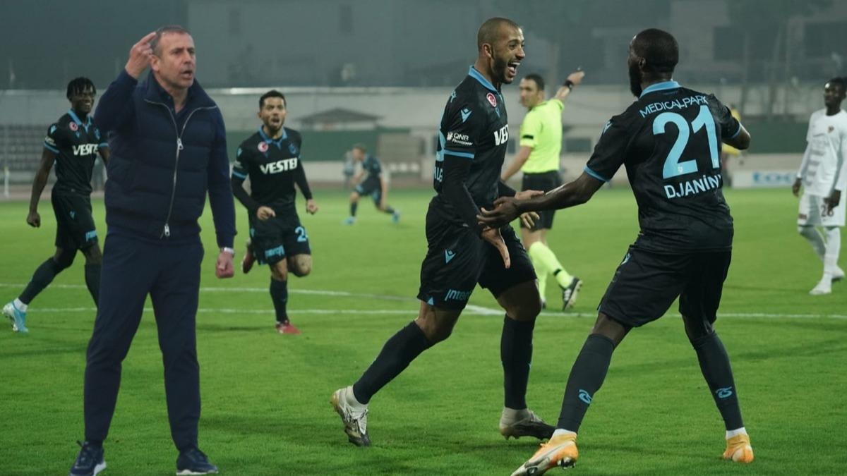 Trabzonspor, Hatay'da 41 yıl sonra bir ilki başardı! Abdullah Avcı'nın sistemine eleştiri yağdı