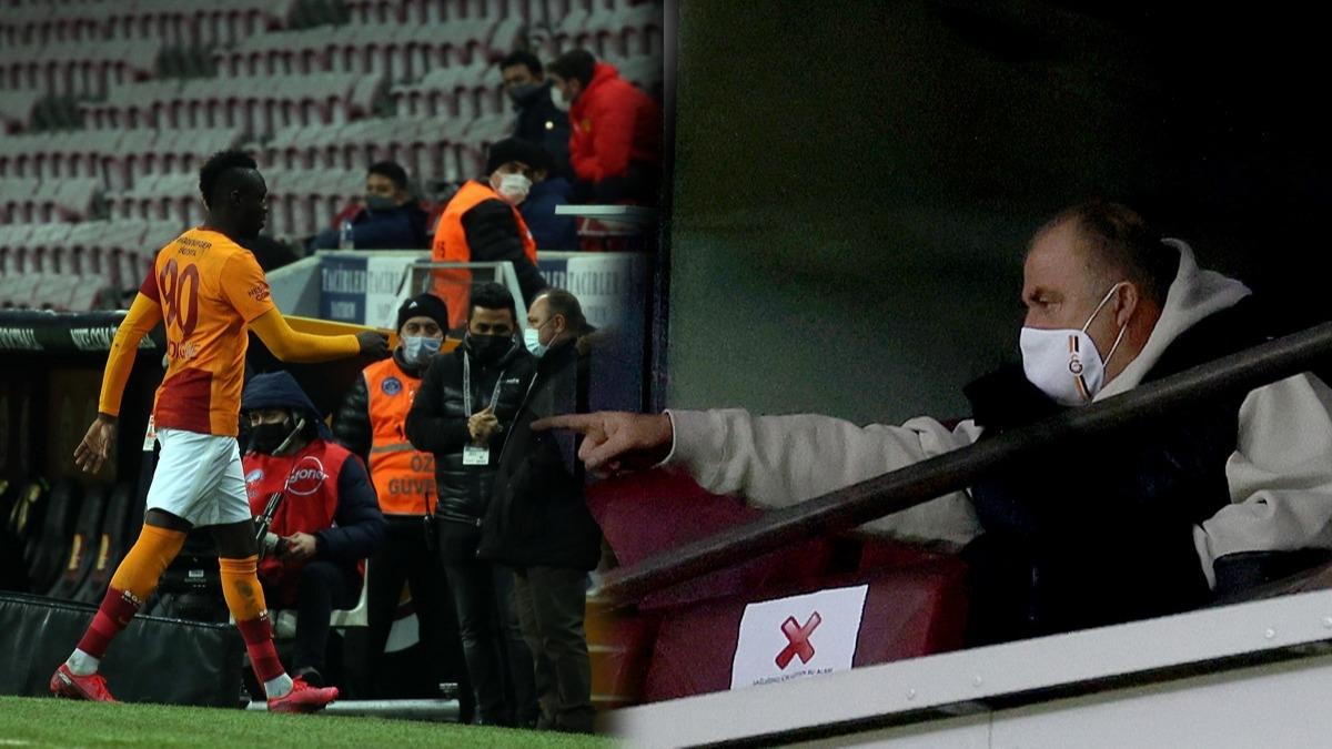 Galatasaray'da Fatih Terim sözünü tuttu! Mbaye Diagne'den ise şok tavır