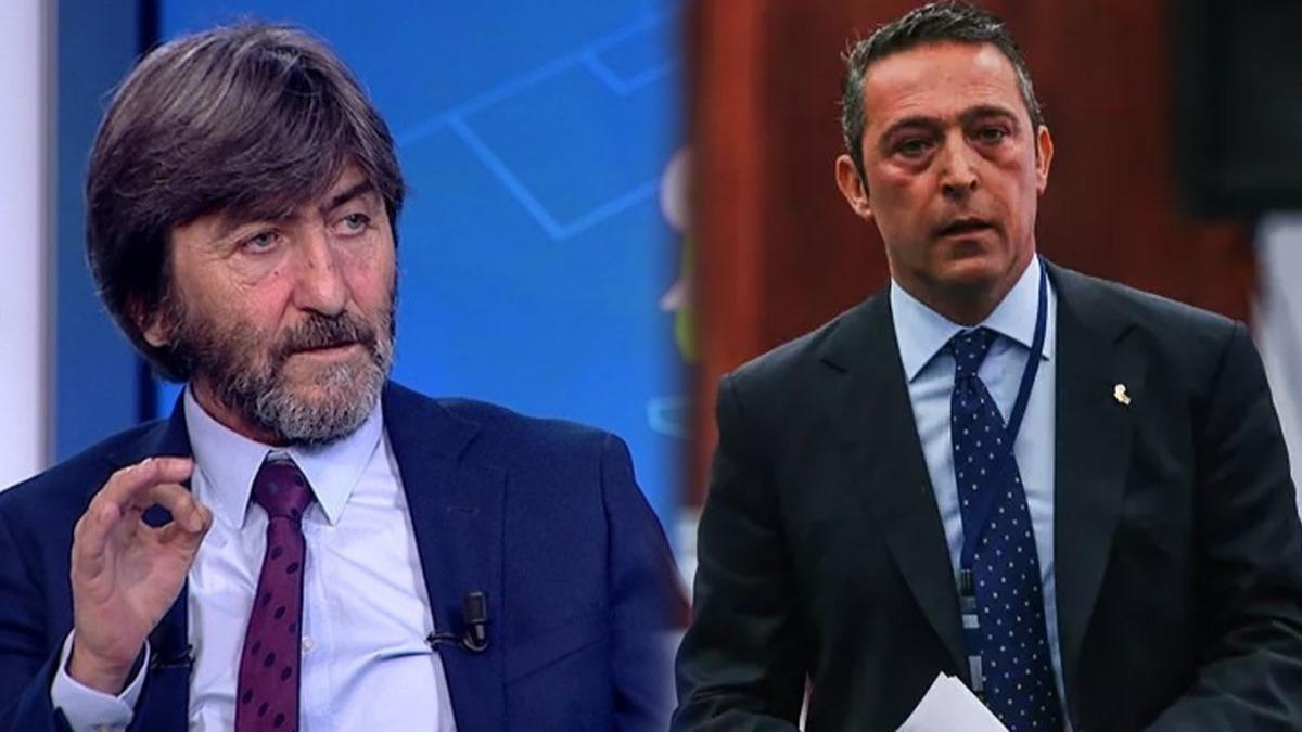 'Hakem maçı Başakşehir'den aldı Fenerbahçe'ye verdi' Ali Koç: Rıdvan Dilmen'e soruyorum...