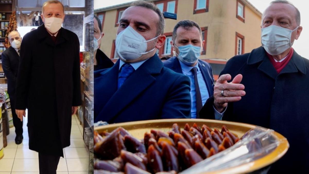 Başkan Erdoğan: Bununla beslenin Kovid'den kurtulun
