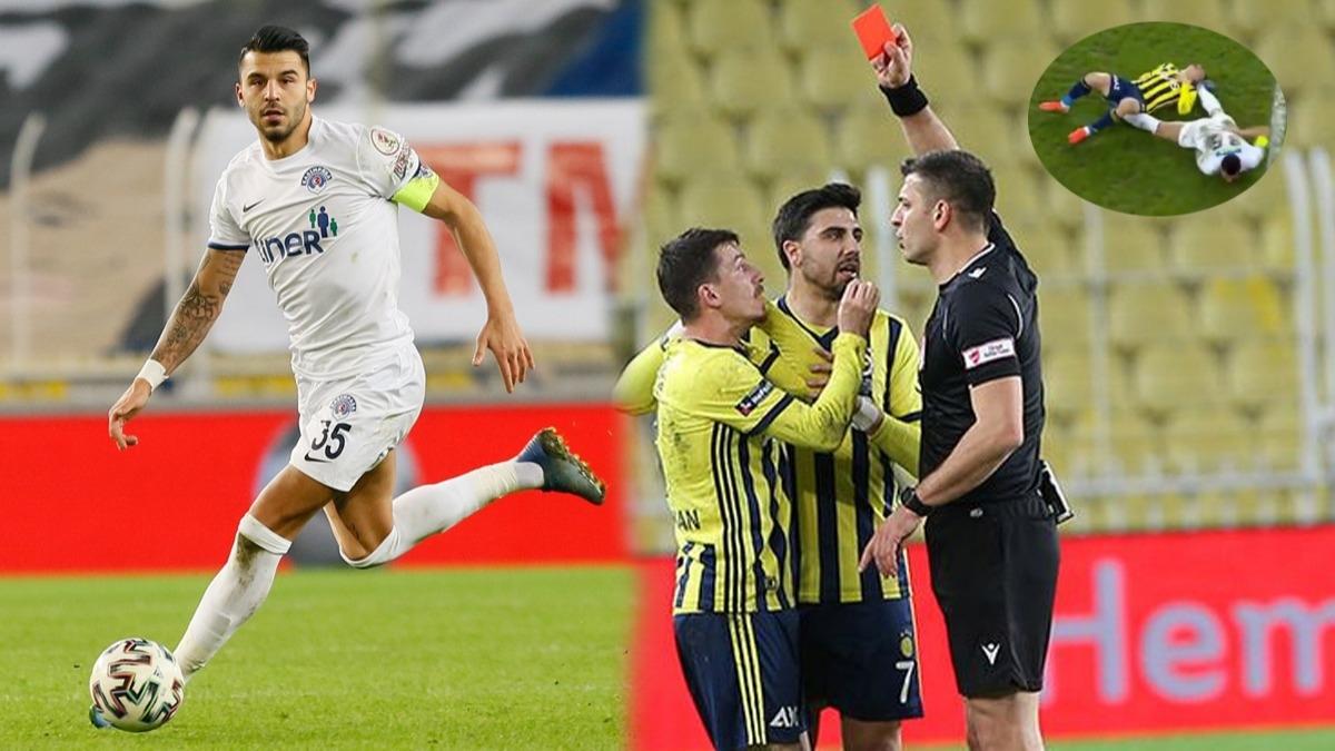 Fenerbahçe - Kasımpaşa maçında çok konuşulan olay! Mert Hakan ile Aytaç Kara olayında 'VAR' tartışması