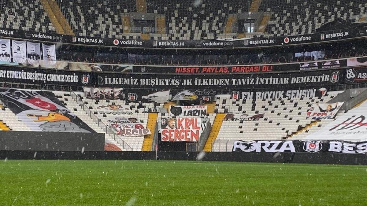 Beşiktaş-Galatasaray derbisi oynanacak mı? İşte Vodafone Park'ta son durum