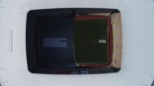 Eksi 12 derecede oynanacak olan Sivasspor-Fenerbahçe maçı öncesi stattan ilginç görüntü