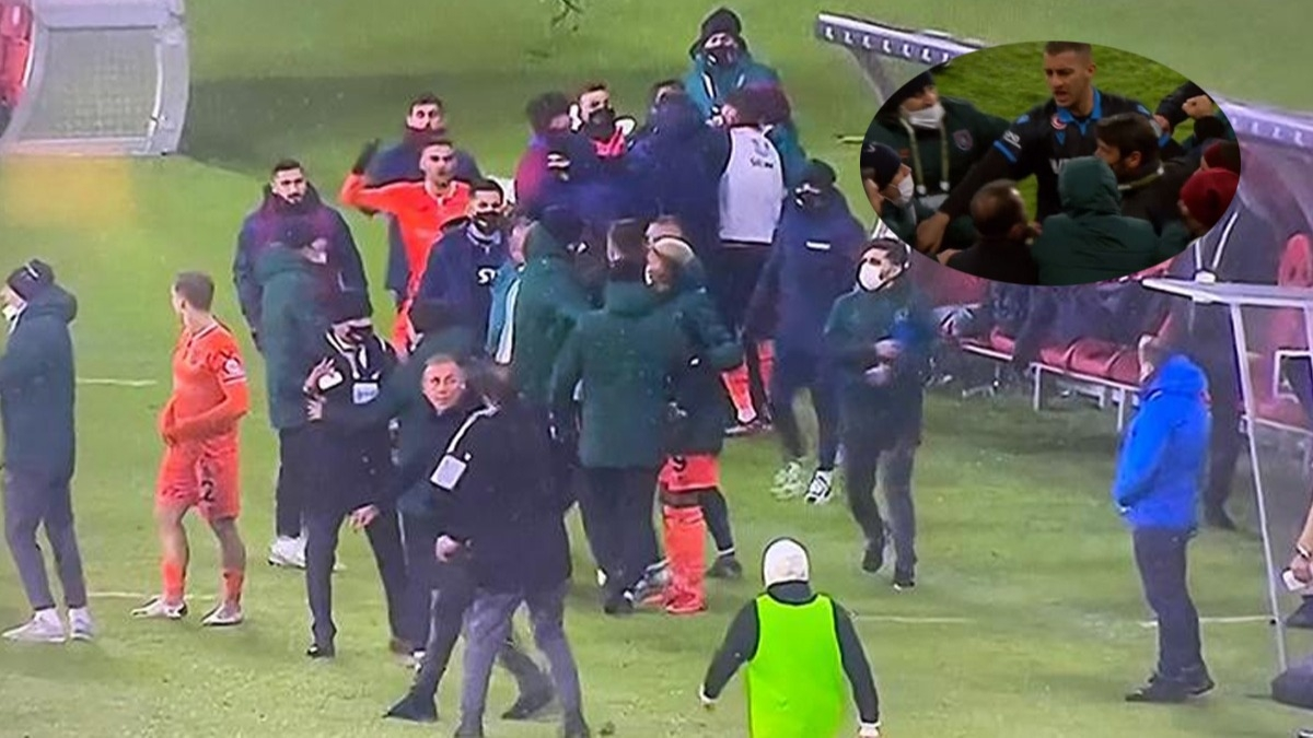 Süper Kupa'da saha karıştı, büyük olay! Okan Buruk ve Egemen Korkmaz...